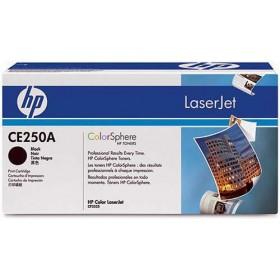 HP CE250A Black Genuine Toner Cartridge