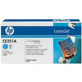 HP CE251A Cyan Genuine Toner Cartridge