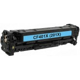 HP CF401X Cyan Compatible Toner Cartridge