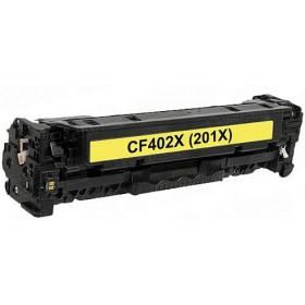 HP CF402X Yellow Compatible Toner Cartridge