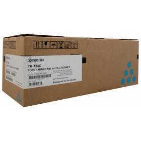 Kyocera TK 154C Cyan Toner Cartridge