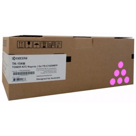 Kyocera TK 154M Magenta Toner Cartridge
