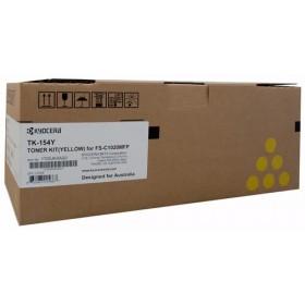 Kyocera TK 154Y Yellow Toner Cartridge