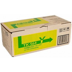 Kyocera TK 564Y Yellow Toner Cartridge