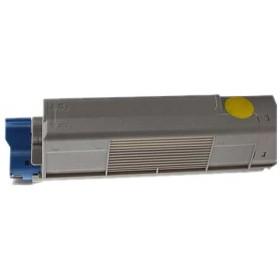 OKI 46443105 Yellow Compatible Toner Cartridge