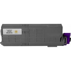Oki 46490609 Yellow Compatible Toner Cartridge