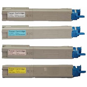 OKI C3300 / C3400 Compatible Value Pack