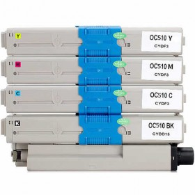 OKI C510DN / C530DN / MC561DN Compatible Value Pack