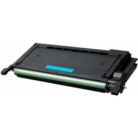 Samsung CLP-C660B Cyan Compatible Toner Cartridge