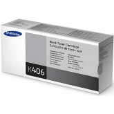 Samsung CLT K406S Black Genuine Toner Cartridge