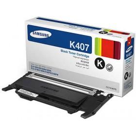 Samsung CLT K407S Black Genuine Toner Cartridge