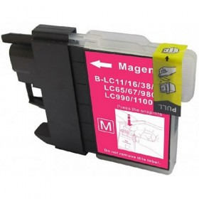 Brother LC67M Magenta Compatible Ink Cartridge