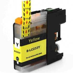 Brother LC 233Y Yellow Compatible ink Cartridge