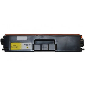Brother TN 349Y Yellow Compatible Toner Cartridge