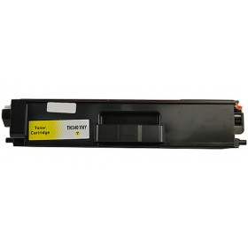 Brother TN 340Y Yellow Compatible Toner Cartridge