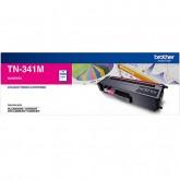 Brother TN 341M Magenta Genuine Toner Cartridge