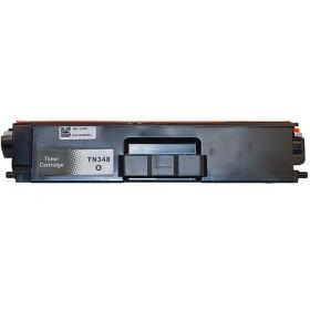 Brother TN 348BK Black Compatible Toner Cartridge