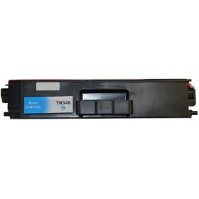 Brother TN 348C Cyan Compatible Toner Cartridge