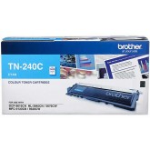 Brother TN 240C Cyan Genuine Toner Cartridge