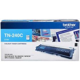 Brother TN 240C Cyan Genuine Toner Cartridge