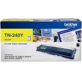 Brother TN 240Y Yellow Genuine Toner Cartridge