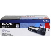 Brother TN 340BK Black Genuine Toner Cartridge
