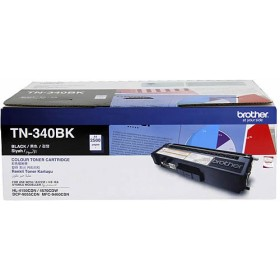 Brother TN 340BK Black Genuine Toner Cartridge