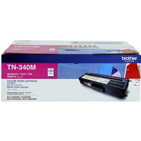 Brother TN 340M Magenta Genuine Toner Cartridge