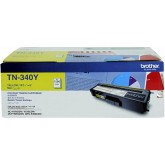 Brother TN 340Y Yellow Genuine Toner Cartridge