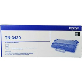 Brother TN 3420 Genuine Toner Cartridge
