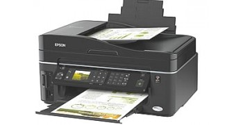 Epson Stylus TX610FW Inkjet Printer