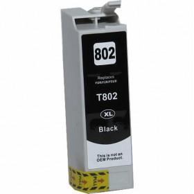 Epson 802XL Black Compatible Ink Cartridge