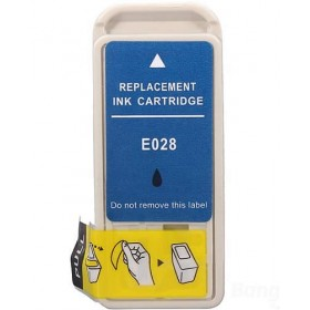 Epson TO28 Black Compatible Ink Cartridge