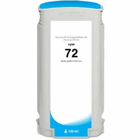 HP 72 Cyan Compatible Ink Cartridge