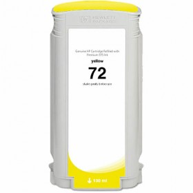 HP 72 Yellow Compatible Ink Cartridge