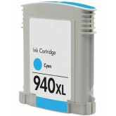 HP 940XL Cyan Compatible Ink Cartridge (C4907AA)