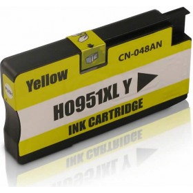 HP 951XL Yellow Compatible Ink Cartridge CN048AA
