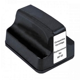 HP 02XL Black Compatible Ink Cartridge