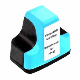 HP 02XL Light Cyan Compatible Ink Cartridge