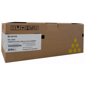 Kyocera TK 154Y Yellow Toner Cartridge