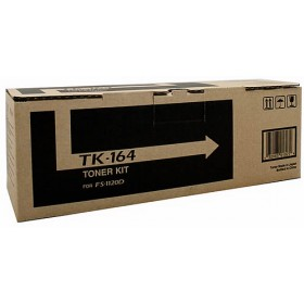 Kyocera TK 164 Black Toner Cartridge