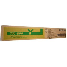 Kyocera TK899Y Yellow Toner Cartridge