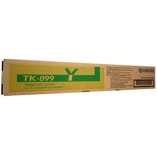 Kyocera TK899Y Yellow Toner Cartridge