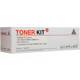 Oki 44992407 Black Genuine Toner Cartridge