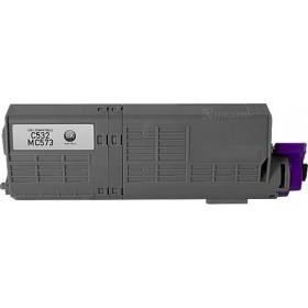 OKI 46490612 Black Compatible Toner Cartridge