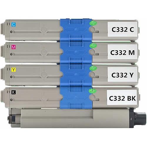 Oki C332 Mc363 Compatible Value Pack