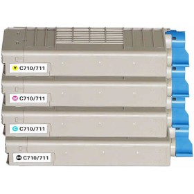 OKI C710 / C711 Compatible Value Pack