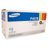 Samsung CLT P407B Twin Black Toner Cartridges