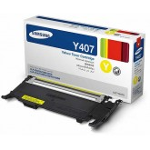 Samsung CLT Y407S Yellow Genuine Toner Cartridge