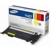 Samsung CLT Y407S Yellow Genuine Toner Cartridge